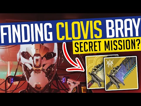 Destiny 2   FINDING CLOVIS BRAY! Huge Hidden Area & Possible Secret Quest! - Beyond Light