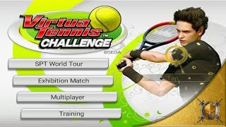 Virtua Tennis Challenge - Android Gameplay - STP World Tour Madrid - Very Hard Difficulty [1080p]