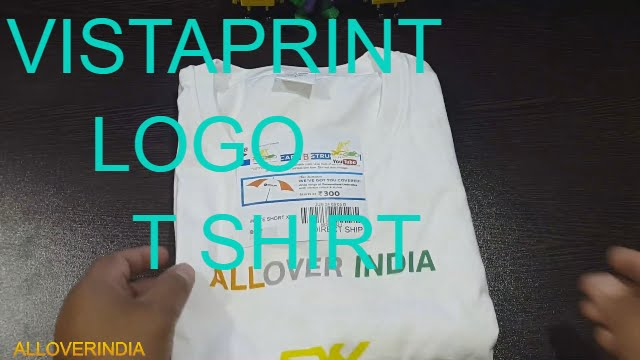 VISTAPRINT LOGO T SHIRT AND YOUTUBE CHANNEL