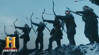 Vikings: A Funeral Fit For A Shieldmaiden | The Ice Maiden Airs Jan. 15 at 10/9c | History