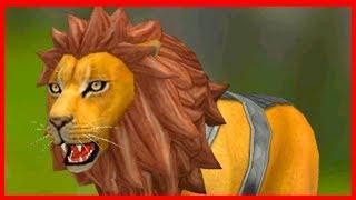 СИМУЛЯТОР ЛЬВА #3 ЛЕВ ОХОТИТСЯ на МЕДВЕДЯ в игре WILDCRAFT