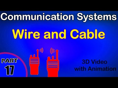 Wire and Cable | Communication System | class 12 physics subject notes lectures|CBSE|IITJEE|NEET