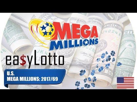 MEGA MILLIONS numbers 29 Aug 2017