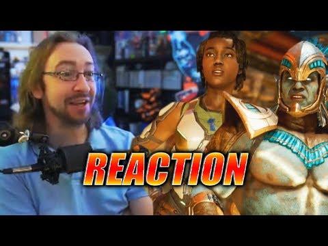 MAX REACTS: Kotal Kahn & Jacqui Briggs Reveal - Mortal Kombat 11 Trailer thumbnail