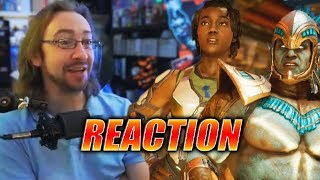 MAX REACTS: Kotal Kahn & Jacqui Briggs Reveal - Mortal Kombat 11 Trailer