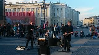 �������� ���� #Серебро БИ2 cover. Константин Колмаков #street_x и Никита Дёмин #nikedemin ������