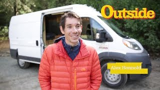 An Inside Look at Alex Honnold's Adventure Van