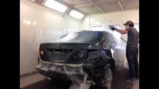 Car refinishing