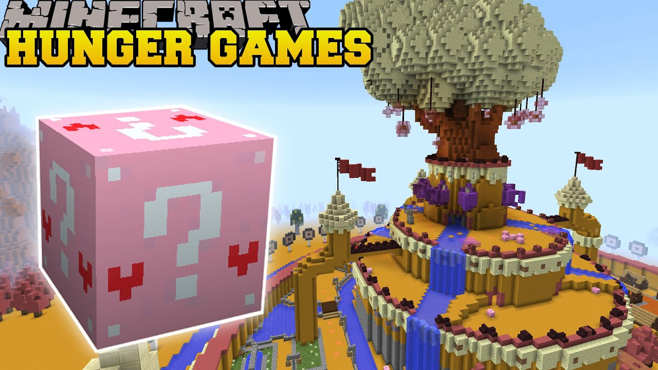 Minecraft ADVENTURE TIME HUNGER GAMES Lucky Block Mod Modded Mini Game YouTube