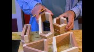 Bird Mouth Router Bits   -   Stave Width  I