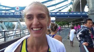 Марафонка Тетяна Вернигор - про виступ на чемпіонаті світу-2017 у Лондоні