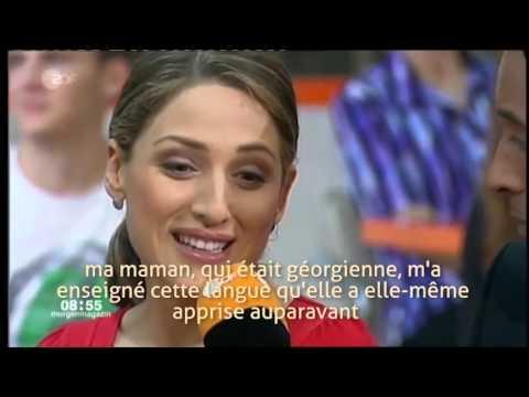 Dudana Mazmanishvili sur ZDF (chaîne de TV allemande)