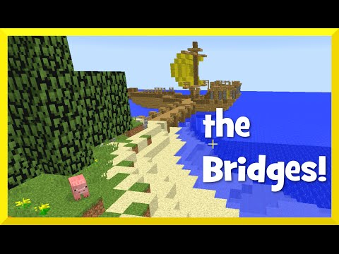Minecraft - the Bridges GamePlay with Gamer Chad - Walls R Boss