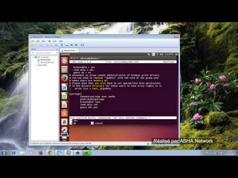 Configuration SAMBA sur Ubuntu 14.04 (partie 1)