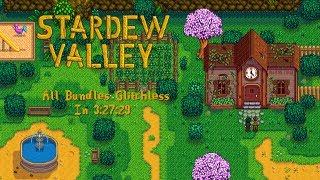 Stardew Valley Speedrun   All Bundles Glitchless in 3:27:29 [WR]
