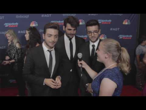 Il Volo Interview at America's Got Talent Season 11 Finale