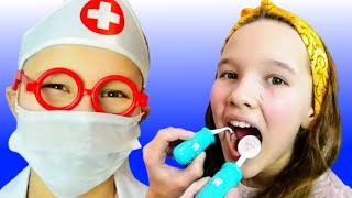 Download Dentist Song Different Version | Canciones Infantiles con Emi and Niki Mp3 and Videos
