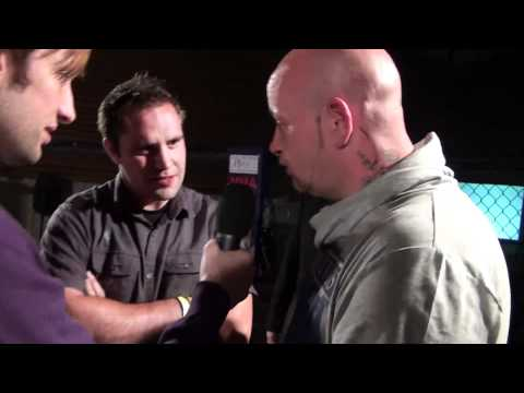Lloyd Clarkson &  Kevin Webster  - Interview at FIGHT UK
