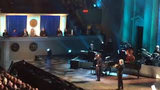 Josh Groban & Chris Botti perform at Tony Bennett's Gershwin Prize