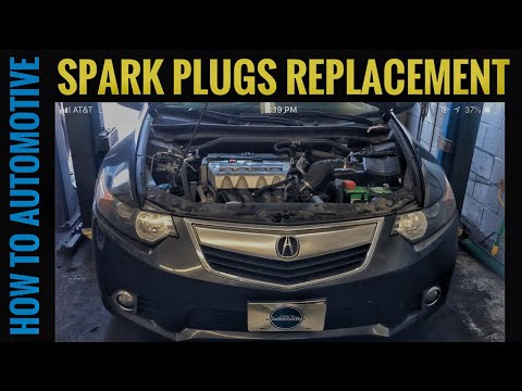 How to Replace the Spark Plugs on a 2009-2014 Acura TSX with 2.4L Engine