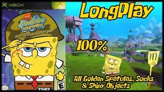 Video SpongeBob SquarePants: Battle for Bikini Bottom - Longplay 100% (Xbox) Walkthrough No Commentary download MP3, 3GP, MP4, WEBM, AVI, FLV Oktober 2018
