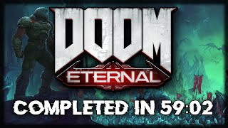 DOOM Eternal Speedrun - 59:02