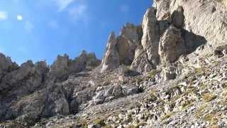 Mt Olympus 3: Louki route - Mytikas descent HD ( Митикас по улея Локи ) Sep 29 2013