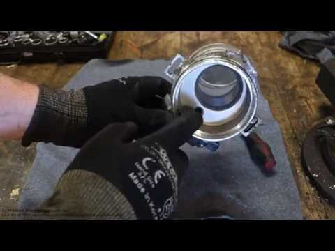 How to clean Ford Escort Zetec MAF engine air flow sensor