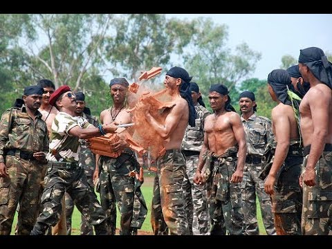 Indian Army Commando Training - Special Forces of India