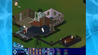 Retro Time: The Sims Deluxe Edition [Part 2] - Mass Study Sessions and Many Sleep Issues!