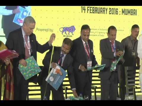 Unveiling Coffee Table Book and Chhattisgarh Business Guide at Chattisgarh Investor Summit