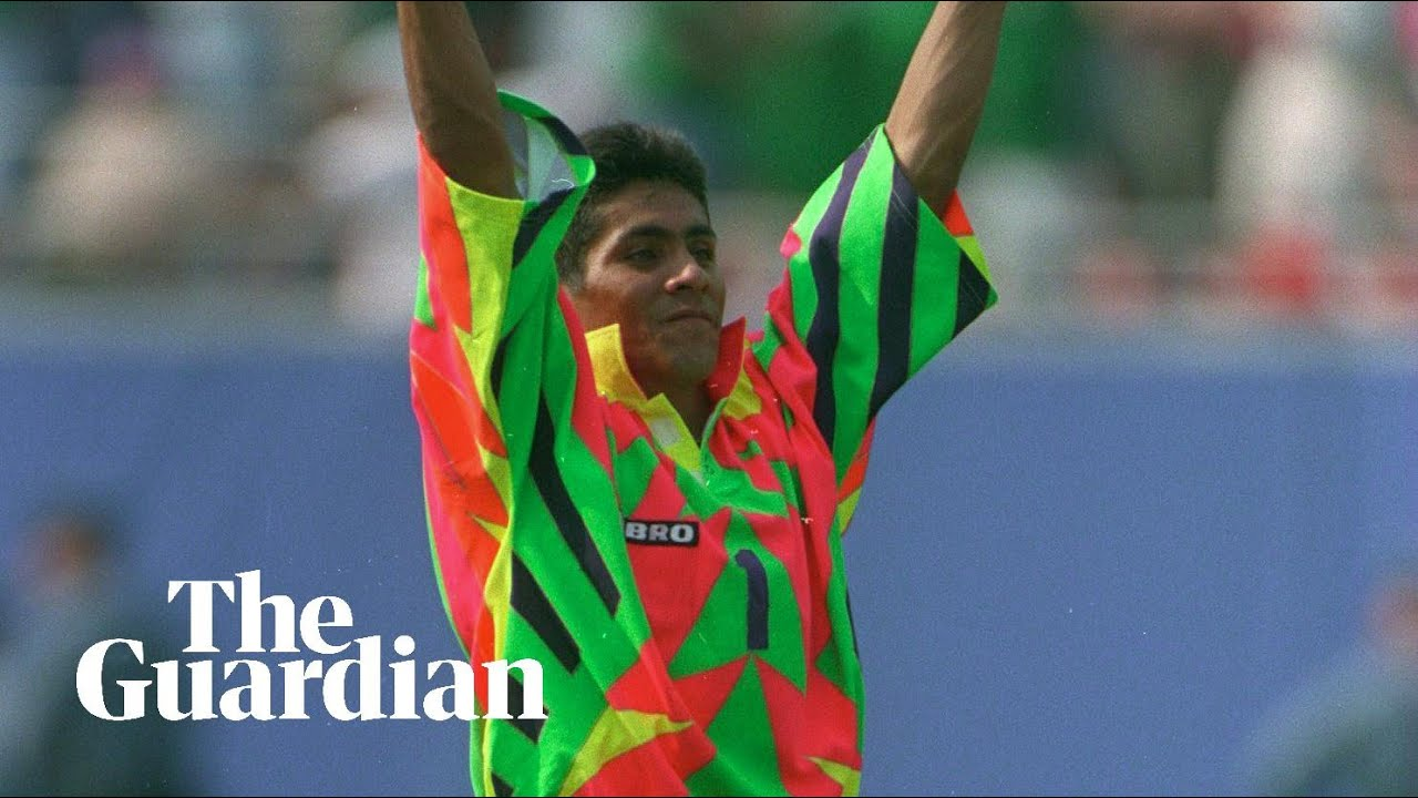 1f0b4180975 The most eye-catching World Cup kits through the years – video ...