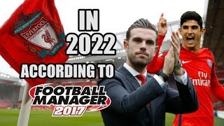 Liverpool In 2022 According To Football Manager 2017