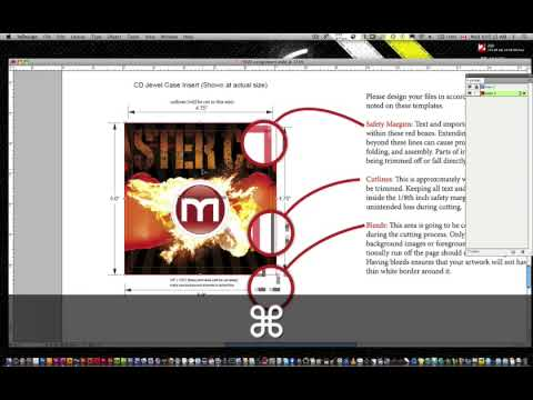 Turn a web header or graphic into a DVD label and DVD Jewel Case Cover Part 2b