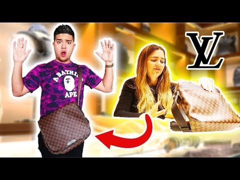 GETTING ROASTED FOR WEARING FAKE LOUIS VUITTON AT THE LOUIS VUITTON STORE!!