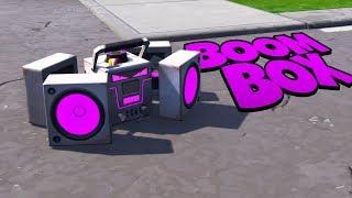 NEUES ITEM BOOMBOX | Fortnite Battle Royale