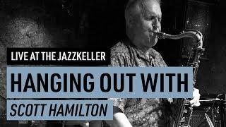 Scott Hamilton swinging Jazz saxophone with Bernhard Pichl Trio Interview and show