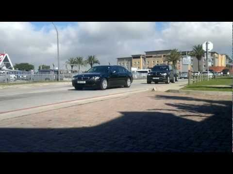 President Jacob Zuma's Convoy leaving PE Airport