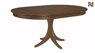 Kincaid 63-054p Cherry Park Round Dining Table Package