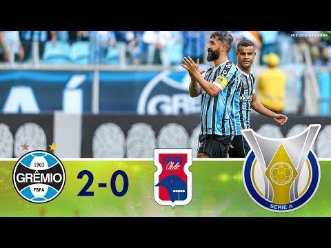 Gols - Grêmio 2 x 0 Paraná - Campeonato Brasileiro (15/09/2018)