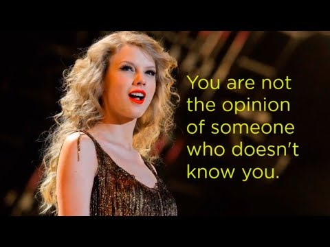 12 Inspiring Quotes By Taylor Swift