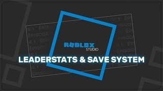 Scripting de Roblox (c) Leaderstats y sistema de copia de seguridad HD