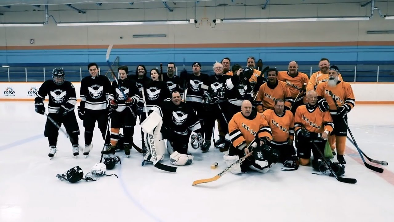 The Toronto Ice Owls Prepare For The 2019 Canadian National Blind Hockey Tournament