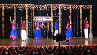 Auckland Muthtamil Sangam Kids Dance 2015 - Gundu Maanga song