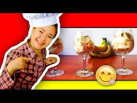 Легкий рецепт Вкусный Банановый Пудинг за 10 мин / Рецепт Kate Clapp ))
