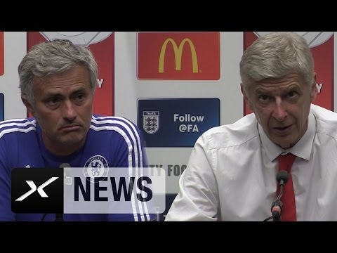 Arsene Wenger Vs. Jose Mourinho! Das PK-Duell | Community Shield | FC Chelsea - FC Arsenal 0:1