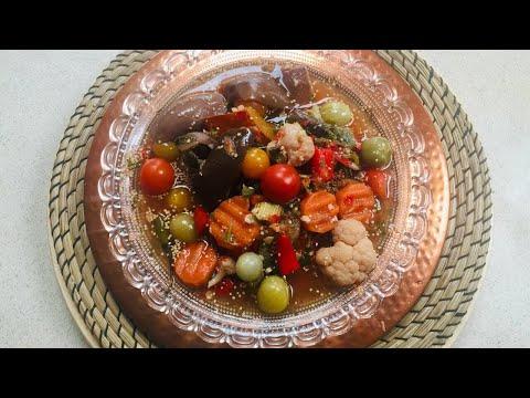 ترشى افغانى طرز تهيه ترشى اموزش ترشى Turshi Afghani |Torshi Recipe How To Make Pickles Recipe