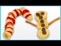 DIY How to Make Tasty Christmas Fruit Snacks for Kids