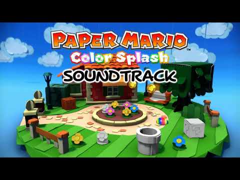 [Music] Paper Mario: Color Splash - Luigi Saves the Day