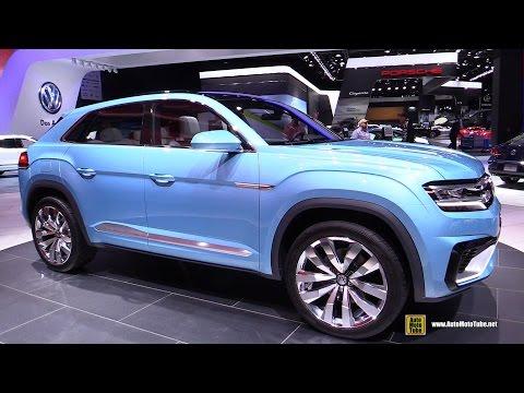 2016 Volkswagen Cross Coupe GTE - Exterior, Interior Walkaround - Debut At 2015 Detroit Auto Show